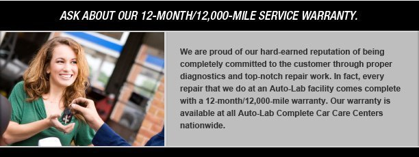 Mt. Pleasant Auto Repair - Oil Change, Brakes, Engines, Tires & Mufflers - Auto-Lab - al_custservice